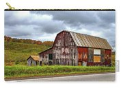 West Virginia Barn Carry-all Pouch