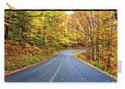 West Virginia Curves - In A Yellow Wood - Paint Carry-all Pouch