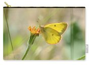 Wester Sulfur Butterfly Carry-all Pouch