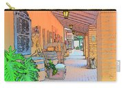 Western Alley Drawing 1 Carry-all Pouch
