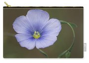 Western Blue Flax Carry-all Pouch