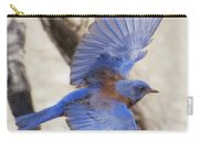 Western Bluebird 2 Carry-all Pouch