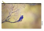 Western Bluebird On Bare Branch Carry-all Pouch