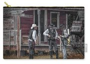Western Cowboy Re-enactors At 1880 Town Carry-all Pouch