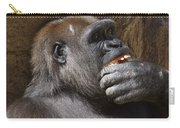 Western Gorilla, Gladys Porter Zoo, Brownsville, Texas Carry-all Pouch