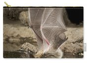 Western Long-eared Myotis Drinking Carry-all Pouch
