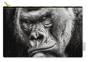 Western Lowland Gorilla Bw II Carry-all Pouch
