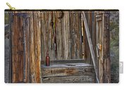 Western Outhouse Carry-all Pouch
