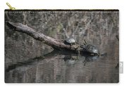 Western Painted Turtles On A Log Carry-all Pouch
