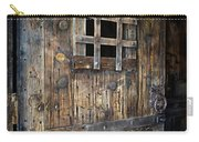 Western Rustic Door Carry-all Pouch