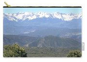 Western Slope Mountains Carry-all Pouch
