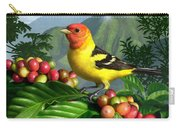 Western Tanager Carry-all Pouch by Jerry LoFaro