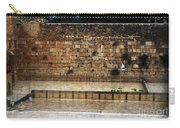 Empty Western Wall Carry-all Pouch