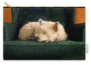 Westie Nap Carry-all Pouch