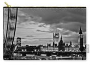 Westminster Black And White Carry-all Pouch