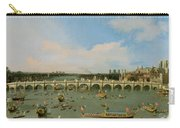 Westminster Bridge - London Carry-all Pouch