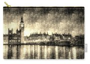 Westminster Bridge And Big Ben Vintage Carry-all Pouch