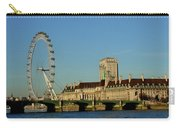 Westminster Bridge And London Eye Carry-all Pouch