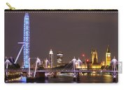 Westminster From Waterloo Bridge London Carry-all Pouch