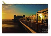 Weston Pier At Sunset Carry-all Pouch