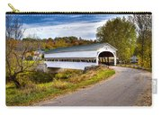 Westport Covered Bridge Carry-all Pouch by Jack R Perry