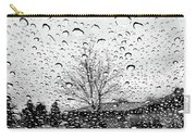 Wet Car Window B Carry-all Pouch