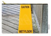 Wet Floor Warning Carry-all Pouch