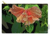 Wet Hibiscus Carry-all Pouch