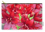 Wet Lilies Carry-all Pouch