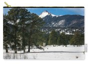 Wet Mountain Valley In Winter Carry-all Pouch