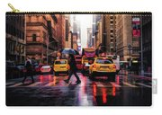 Wet Streets Of New York City Carry-all Pouch