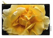 Wet Yellow Rose II Carry-all Pouch