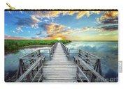 Wetland Marsh Sunrise Treasure Coast Florida Boardwalk A1 Carry-all Pouch