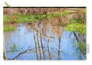 Wetlands Viewing Area In Chatfield State Park Carry-all Pouch