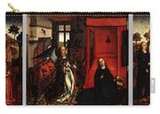 Weyden Annunciation Triptych Carry-all Pouch