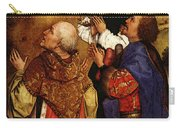 Weyden Bladelin Triptych  Right Wing  Carry-all Pouch