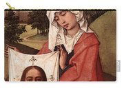 Weyden Crucifixion Triptych  Right Wing  Carry-all Pouch