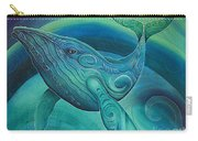 Whale Tohora By Reina Cottier Carry-all Pouch