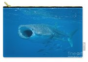 Whale Shark, Ari And Male Atoll Carry-all Pouch by Mathieu Meur