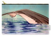 Whale Tail    Pastel   Sold Carry-all Pouch