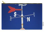 Whale Weather Vane Carry-all Pouch