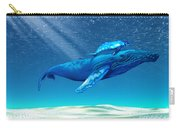 Whales Carry-all Pouch by Corey Ford