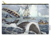 Whaling, 1833 Carry-all Pouch by Granger