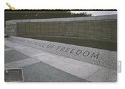 What Does Freedom Cost? Carry-all Pouch