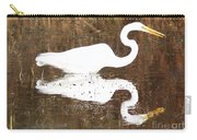 What The Egret Caught Carry-all Pouch
