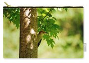 Whats A Woodpecker To Do Carry-all Pouch