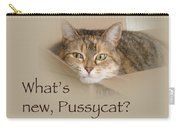 What's New Pussycat - Lily The Cat Carry-all Pouch