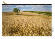 Wheat And A Tree Carry-all Pouch