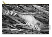 Wheat And Ice Carry-all Pouch