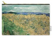 Wheat Field With Cornflowers At Wheat Fields Van Gogh Series, By Vincent Van Gogh Carry-all Pouch